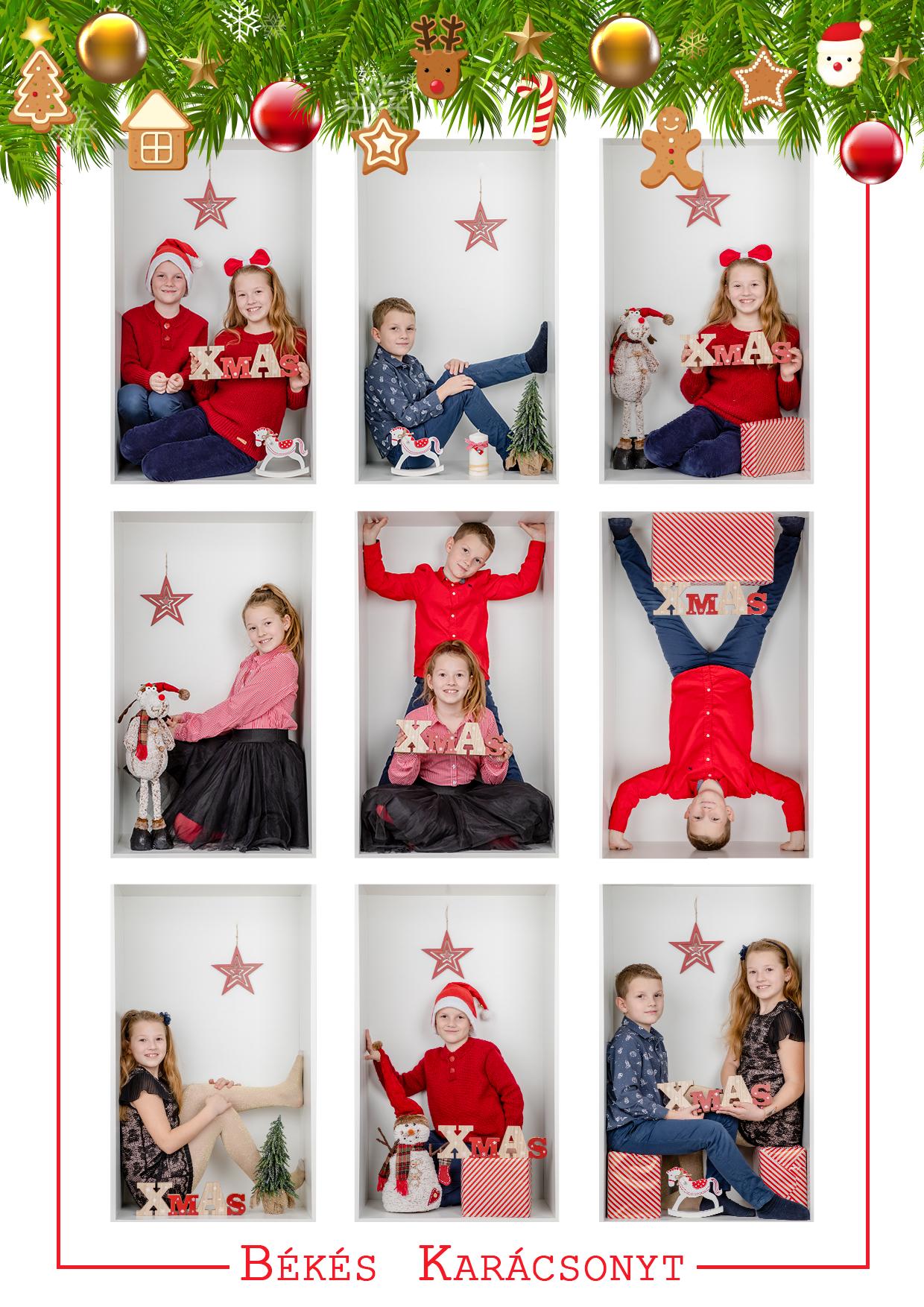 Karácsonyi fotózás ár