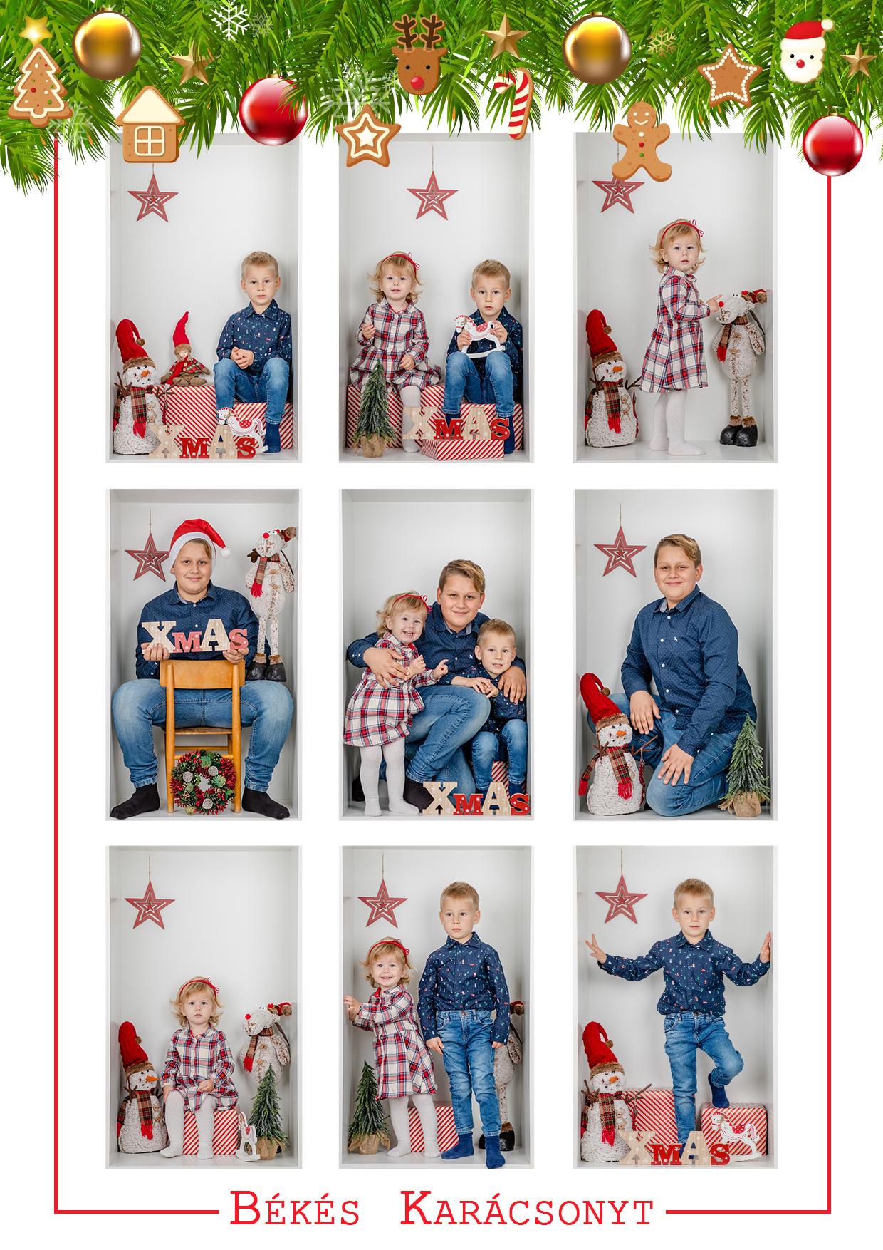 Karácsonyi fotózás dunaszerdahely