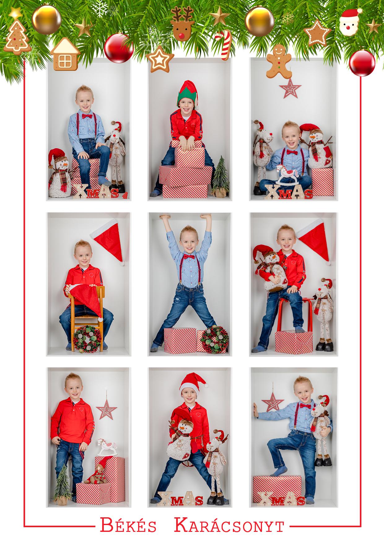 Karácsonyi fotózás kalman
