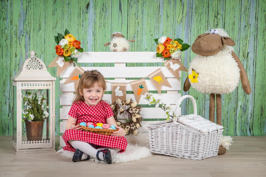 családi húsvéti fotózás