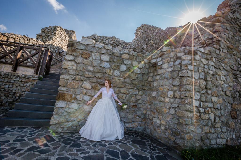 svadobné fotenie na hrade Devín