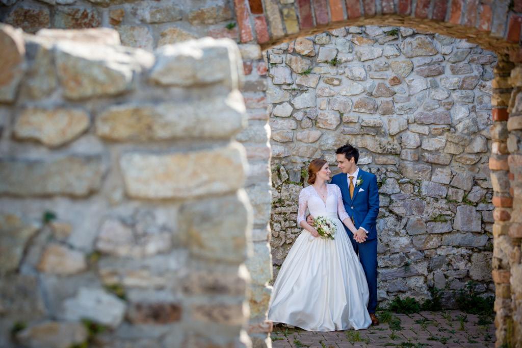 svadobné fotky Devín