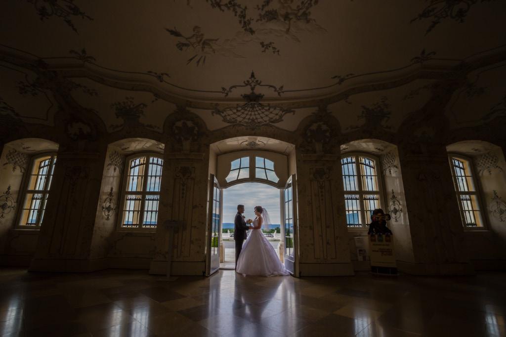 svadobné fotky Schlosshof